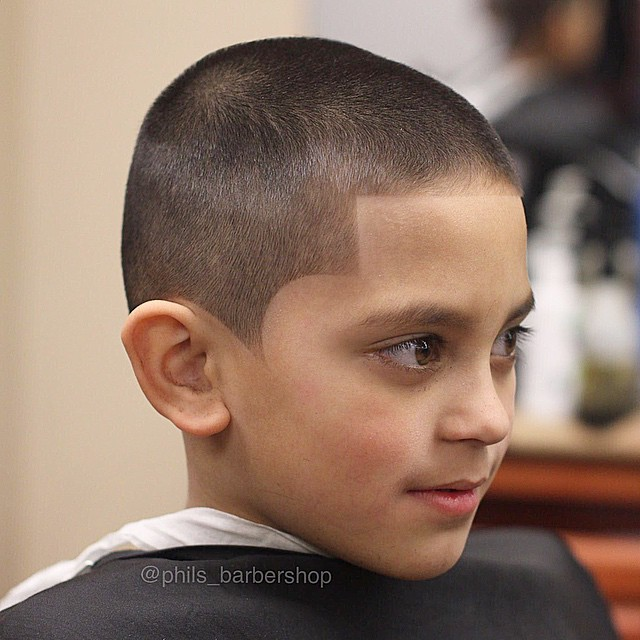 Buzz cut + Line up - Hairstyle for boy