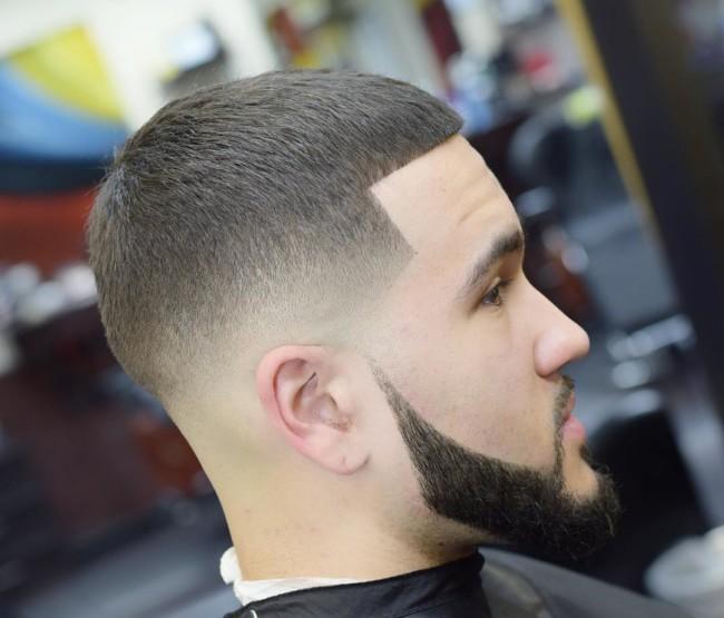 Buzz Cut + Low Skin Fade - Men's Haircuts