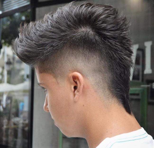 MoHawk Fade - Men's Haircuts