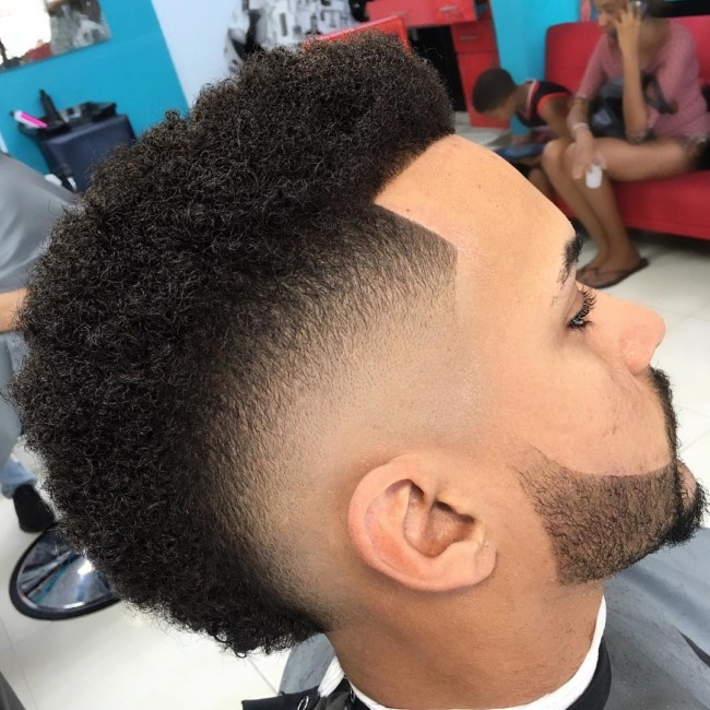 FroHawk + Burst Fade - Men's Haircuts