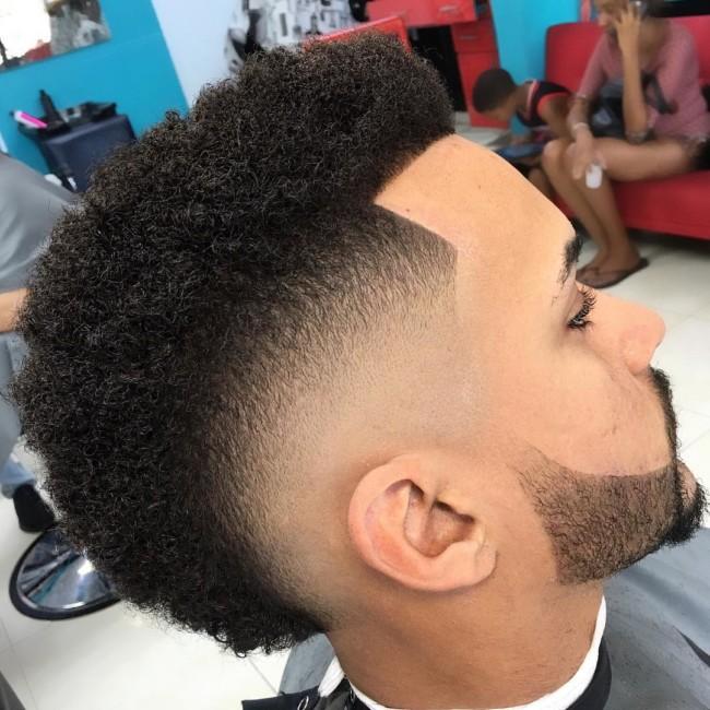 FroHawk + Burst Fade - Men's Haircuts