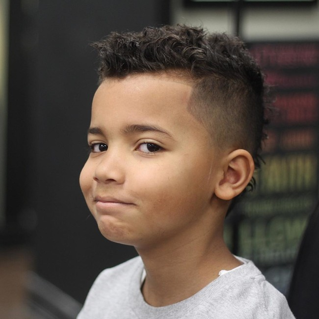 MoHawk Haircut - Hairstyle for boy