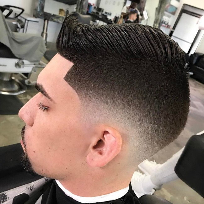 Blurry Fade - Men's Haircuts