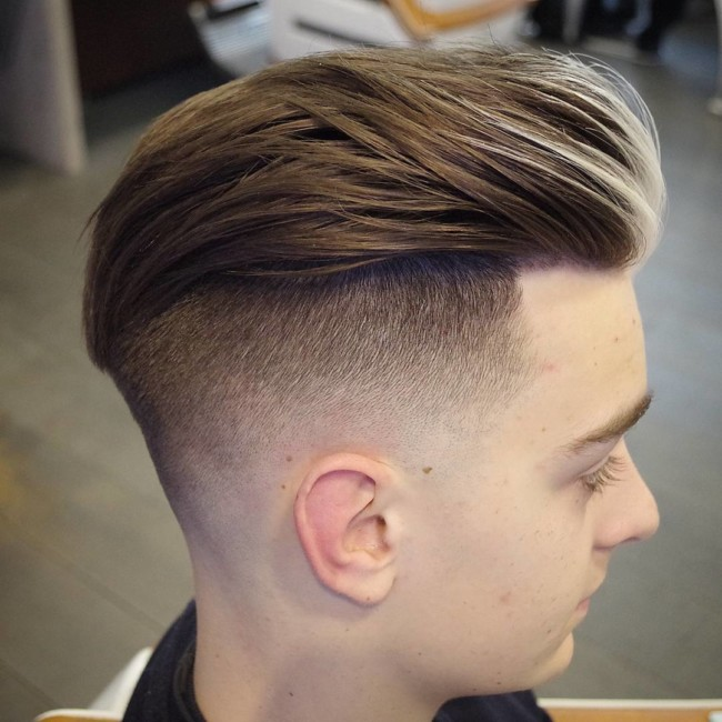 Undercut Fade - Men's Haircuts