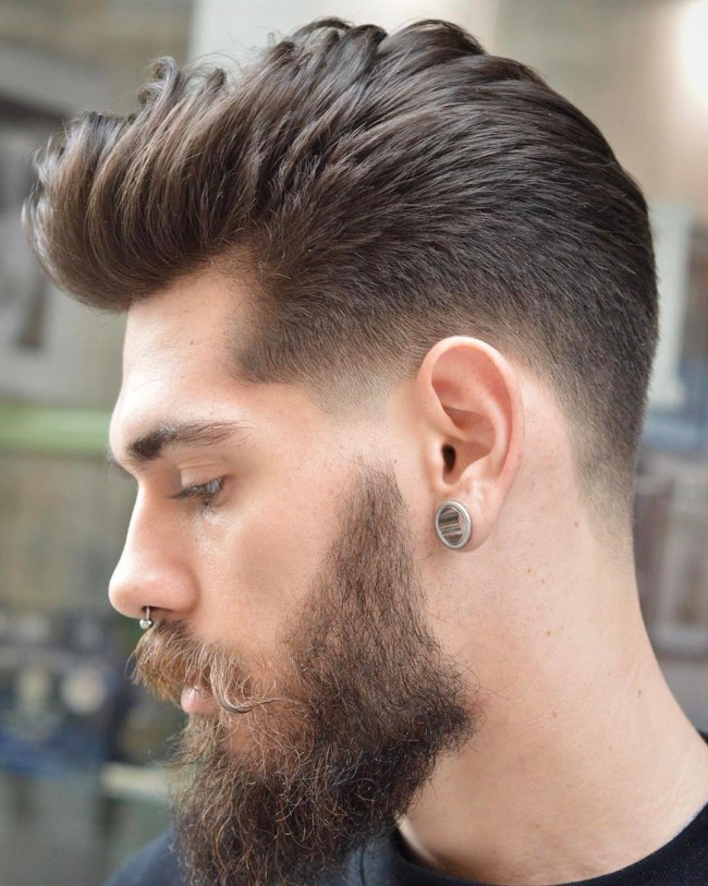 Hipster Taper Fade - Men's Haircuts