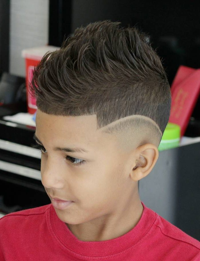 Quiff + Hi-lo Fade Hairstyle for boys