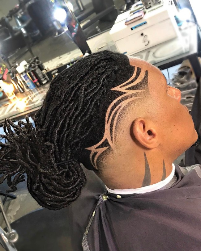 DreadLocks+ design for black men