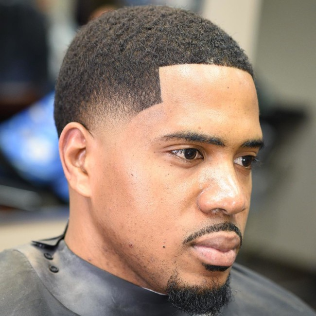 Buzz Cut + Temple Fade - Men's Haircuts