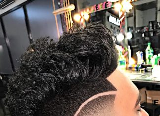 Messy FauxHawk + Hi-Lo Fade - Men's haircuts