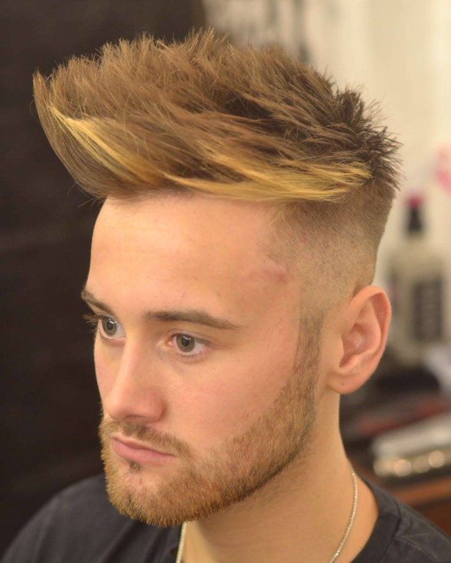 Quiff + High Fade - Men's Haircuts