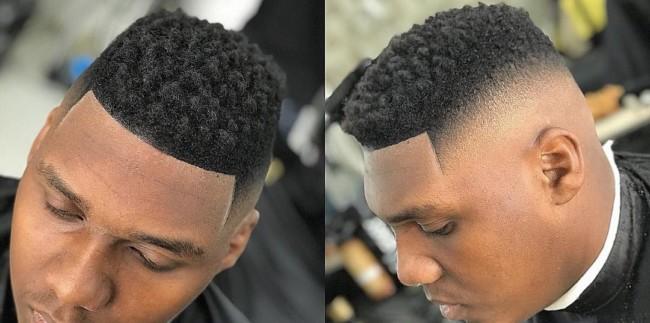 Black men's haircuts