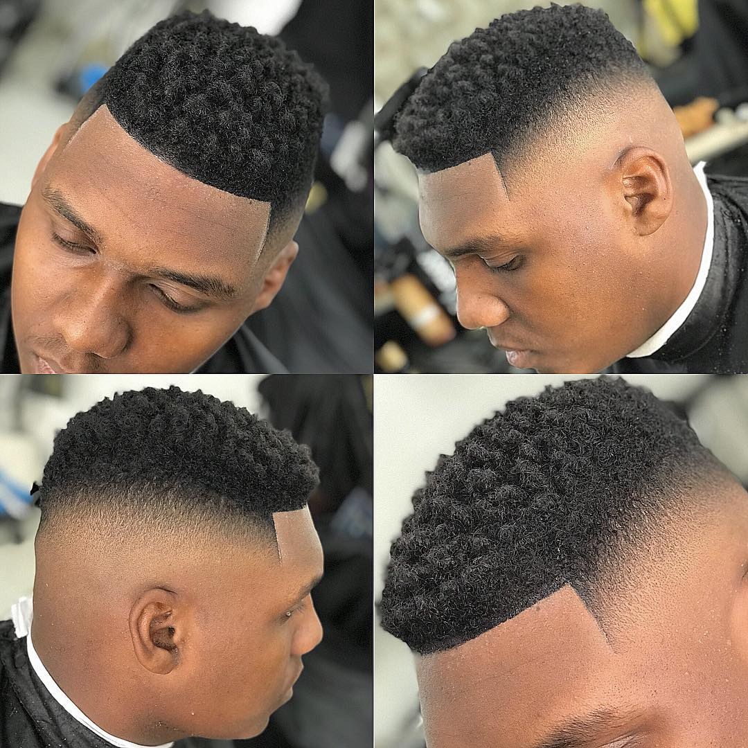 Black mens haircuts