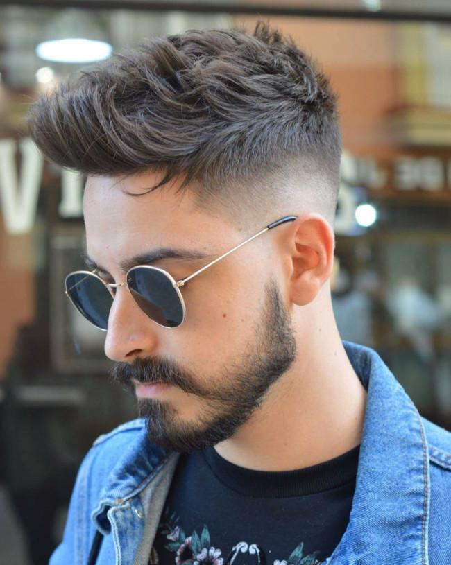 Quiff + High Fade - Men's Haircuts