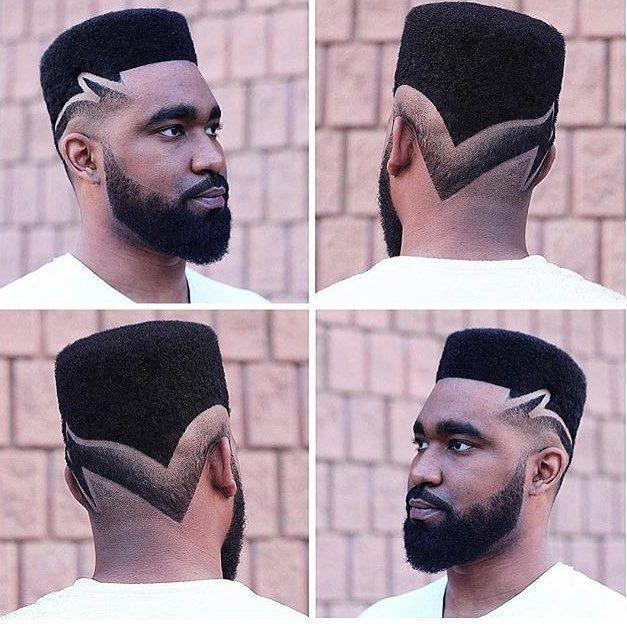 Flat Top + Reverse Fade - Men's Haircuts