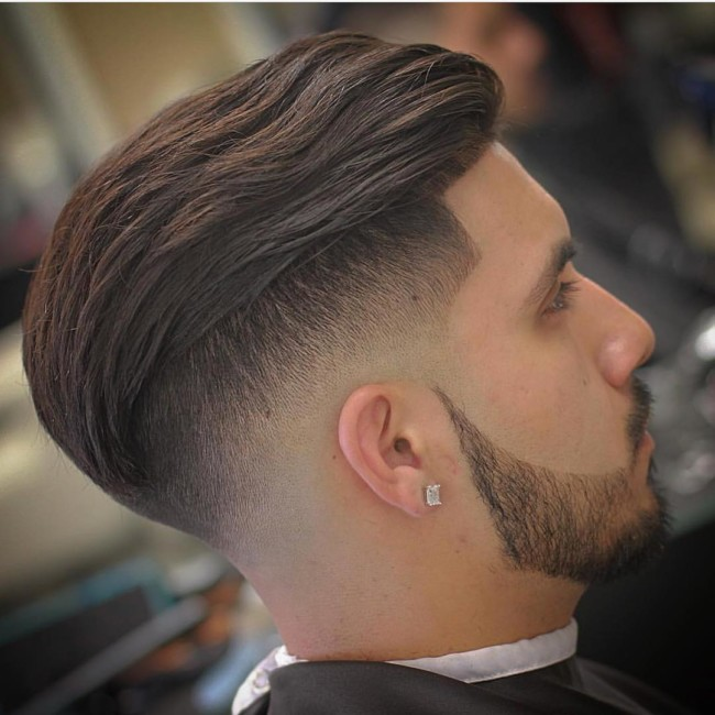 Undercut + Low Skin Fade - Men's Haircuts