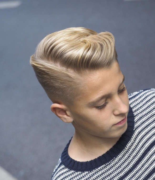 Ivy League Haircut for boys