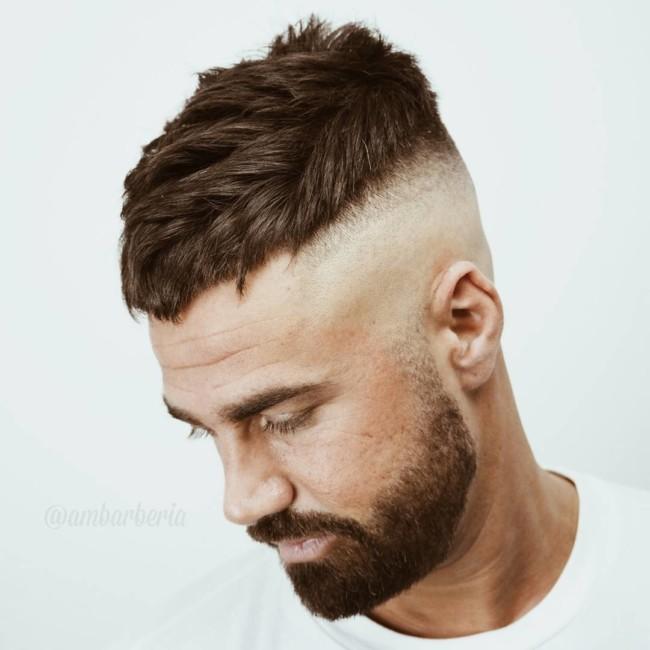 Crop + High Bald Fade - Men's Haircuts