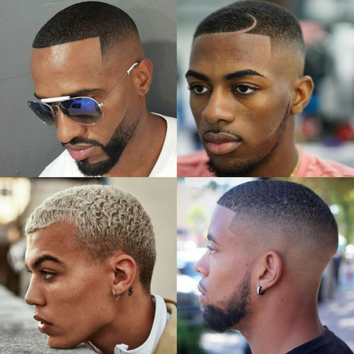 Buzz cut black men haircuts