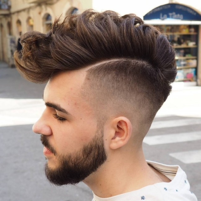 FauxHawk Fade - Men's Haircuts