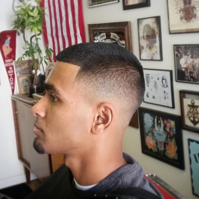 Buzz + Fade + Line Up - Men's Haircuts
