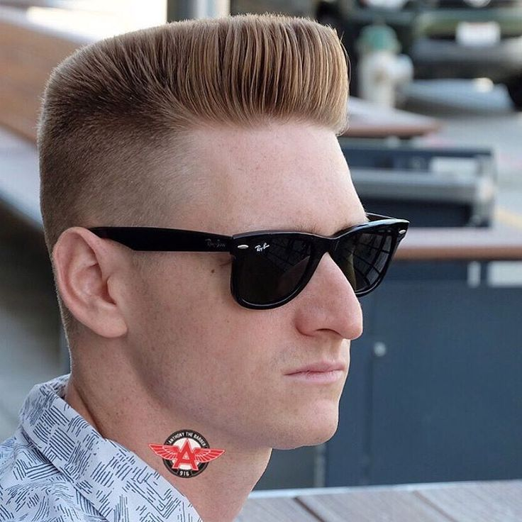 Flat Top - Men's haircuts