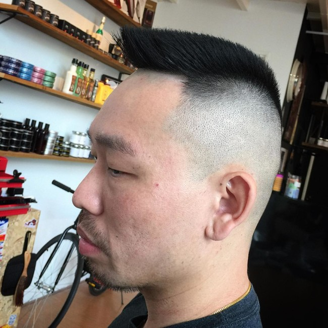 Military Flat Top - Men's haircuts