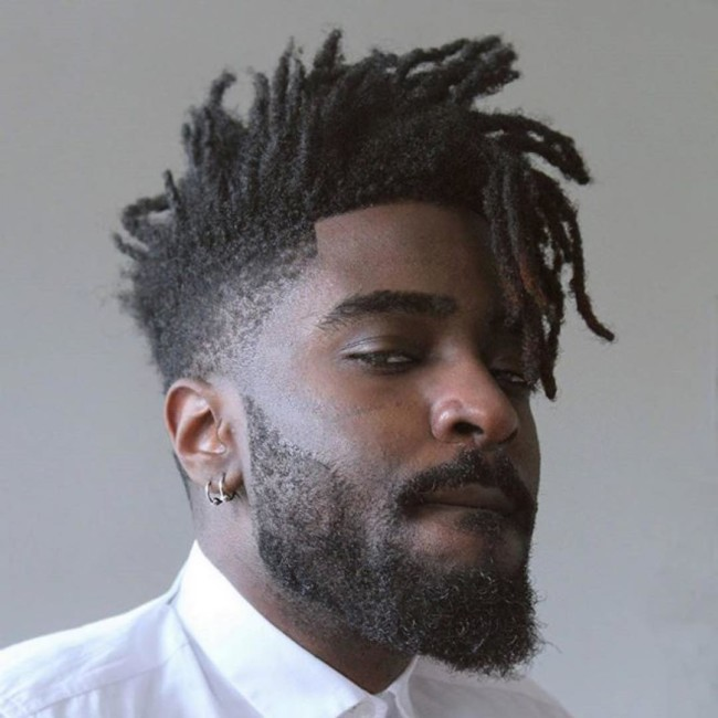 High Top + Dreads - Men's haircuts