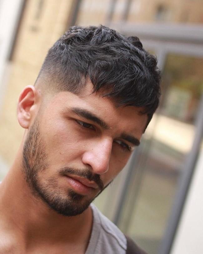 Textured Crop + High Fade - Men's haircut