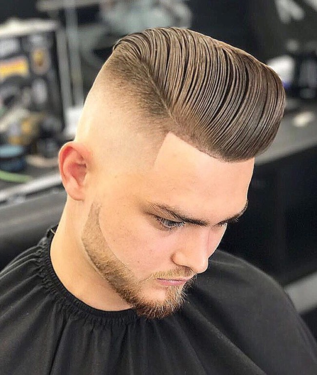 Fade d Pompadour - Men's Haircuts