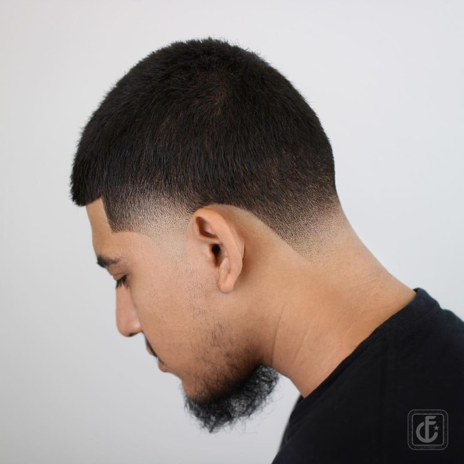 Buzz Cut + Taper Fade - Men's Haircut