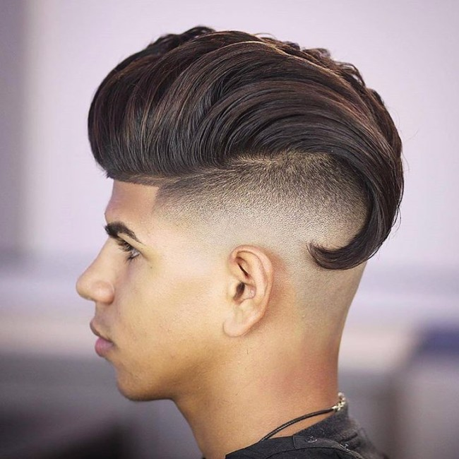 Long Hair + Pompadour - Men's Haircuts