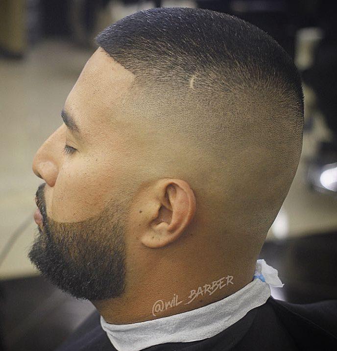 Buzz Cut + High Fade - Men's Haircuts