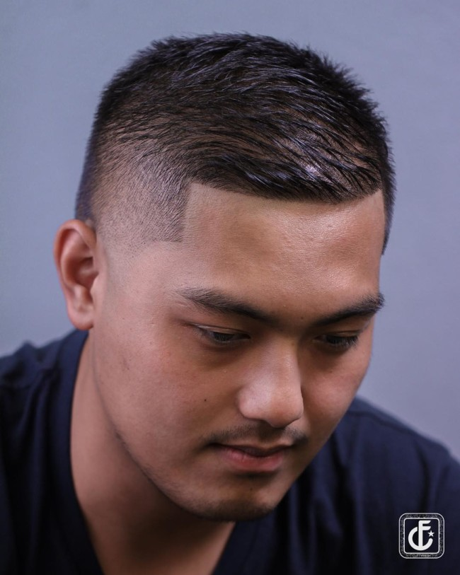 Brush Cut - Men's Haircut