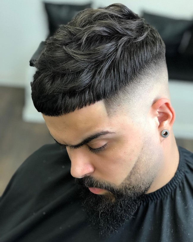 Crop + Bald Fade - Men's Haircuts