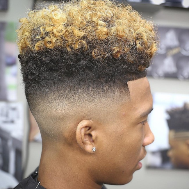 High Top + Color - Men's haircuts