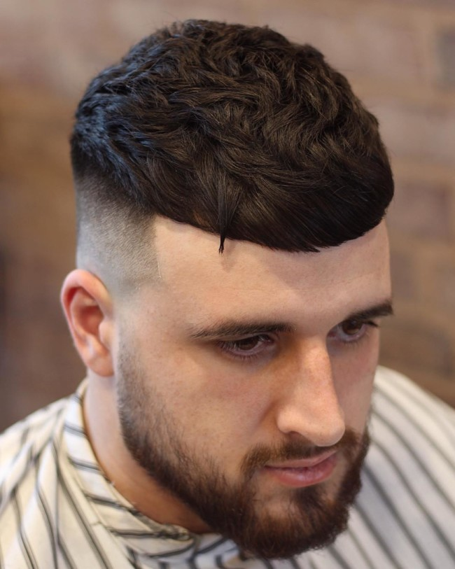 Textured Crop + High Fade - Men's haircut