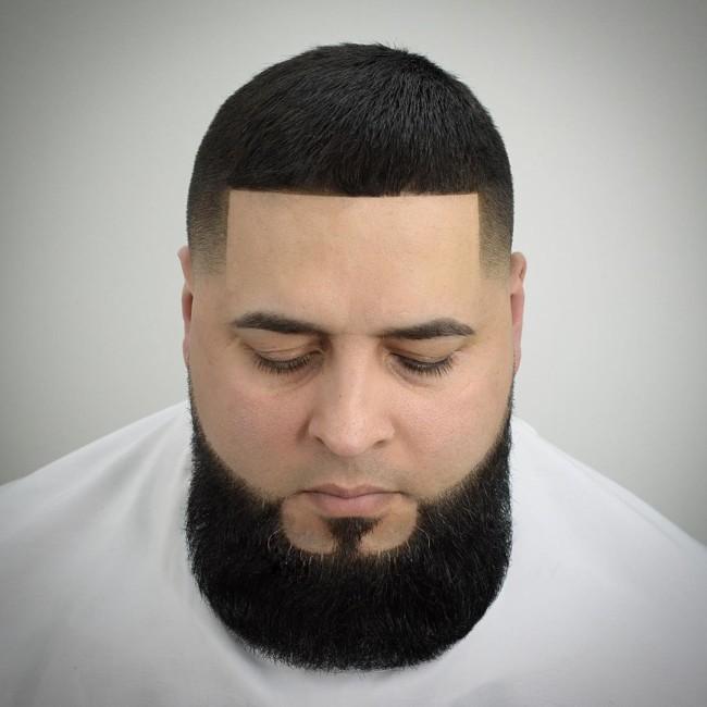 Brush Cut + Taper Fade - Men's Haircut