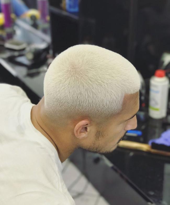 Buzz Cut + Color - Men's haircuts