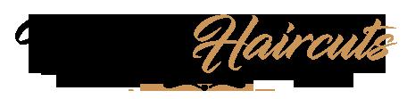 Men's haircut logo