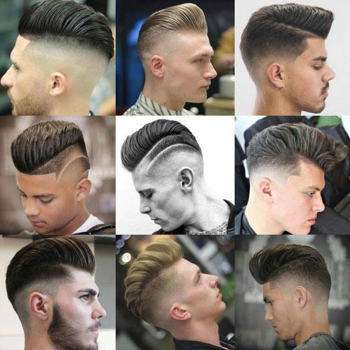 Pompadour Hairstyle Mens Haircuts