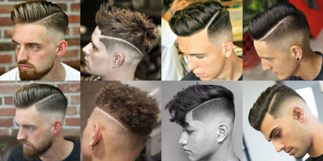 Hard Part Haircut - Men's haircuts