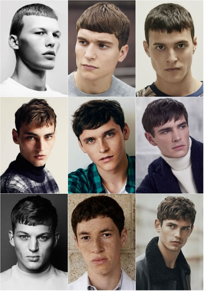 French crop Hairstyle - Men's haircut