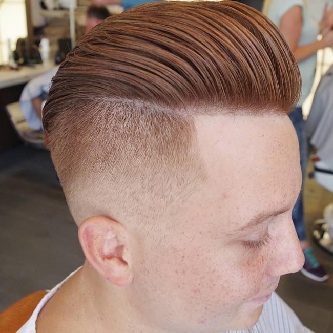 Undercut Pompadour - Men's Haircuts