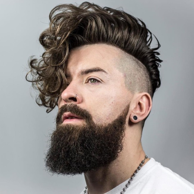 Side Swept Undercut - Men's Haircuts
