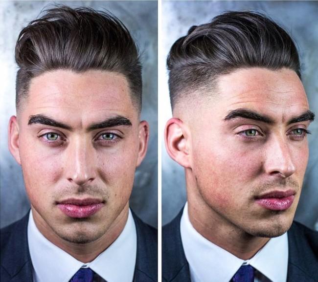 Undercut + Mid Fade - Men's Haircuts