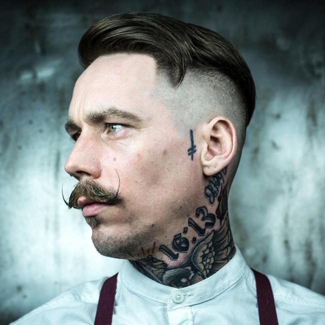Side Part Undercut - Men's Haircuts