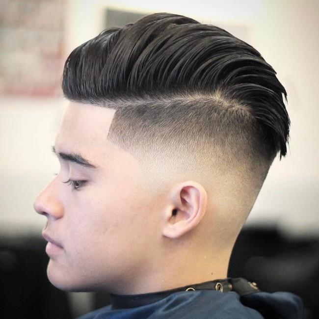 Undercut + Skin Fade - Men's Haircuts