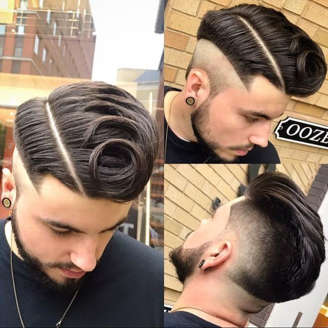 Creative Comb Over - Men's Haircuts