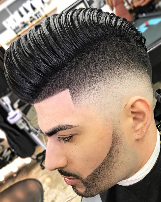 Disconnected Pompadour - Men's Haircuts