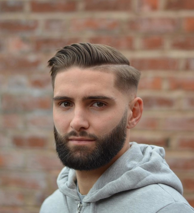 Comb Over + Side part - Men's Haircuts